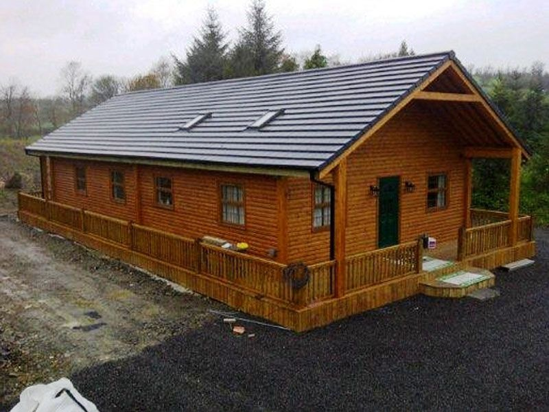 Considering a mobile home or a log cabin kit ideal luxury for First time home building guide