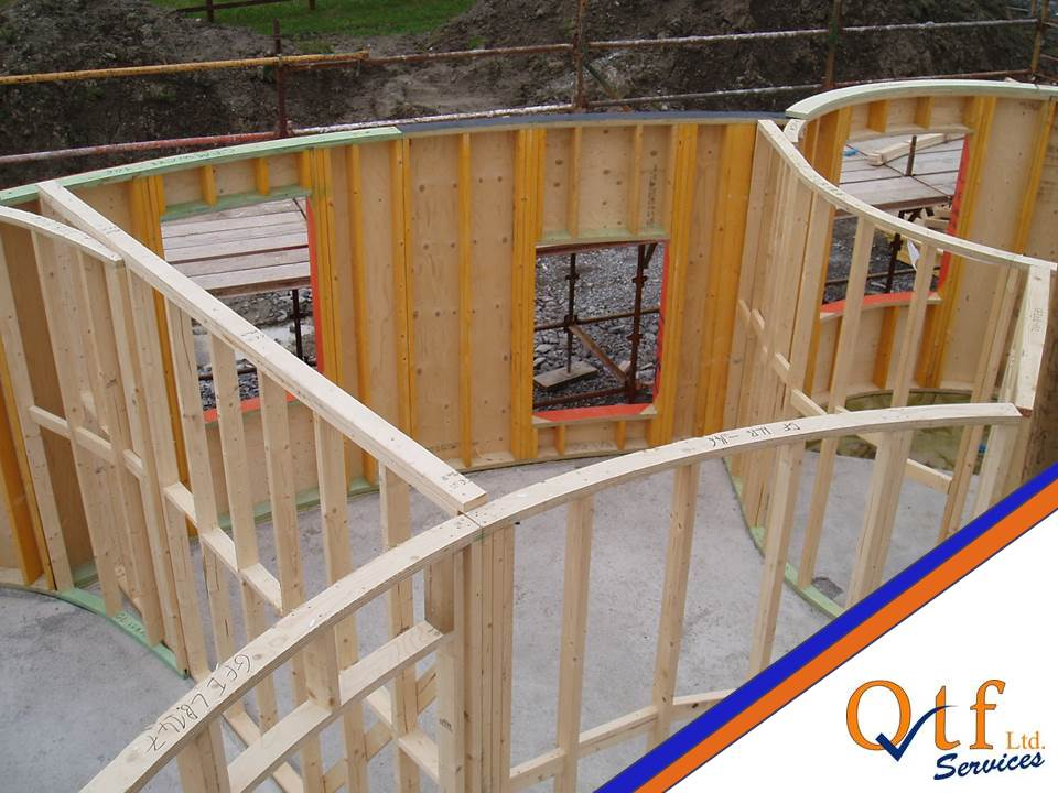 QTF Homes Timber Frame Kit Project