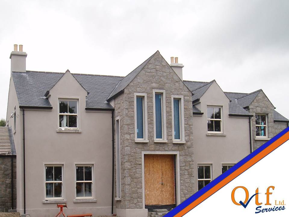 Timber Frame Kit project by QTF Homes
