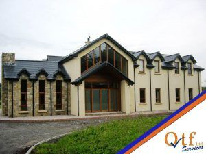 Timber Frame kit finished project by QTF Homes