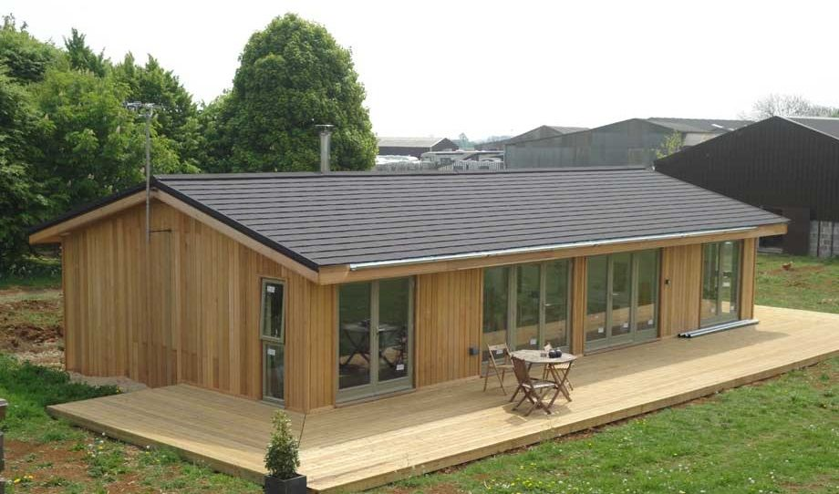 Considering a mobile home or a log cabin kit ideal luxury for Timber frame house plans for sale