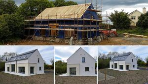 Irish Timber frame,