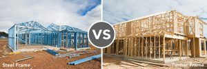Timber Frame or Steel Frame UK construction