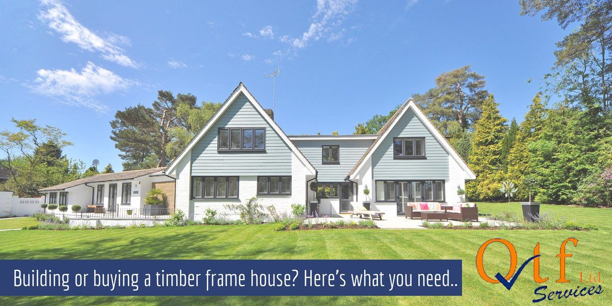 Build or buy a timber frame house