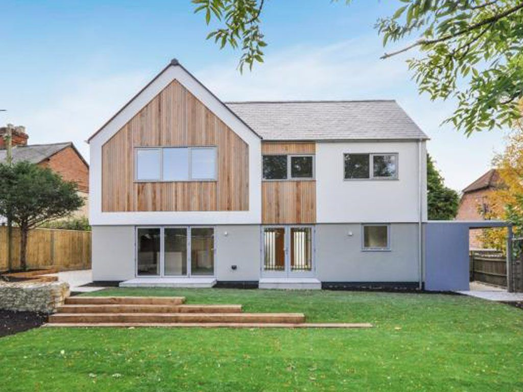 Timber Frame house built by QTF in Haddenham UK