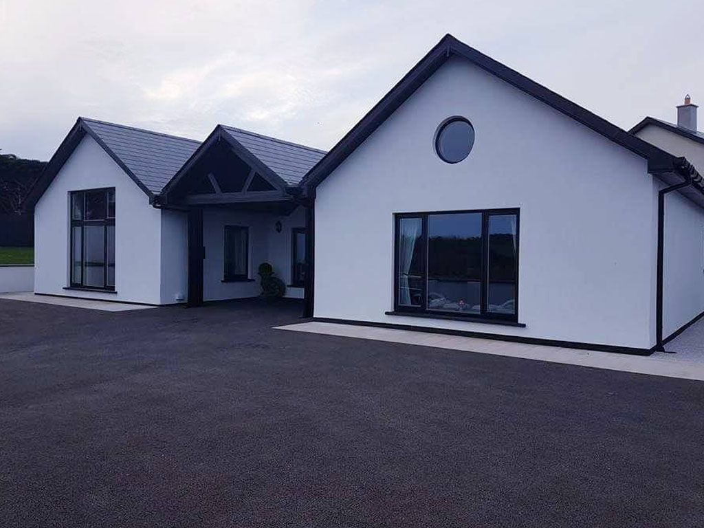 Timber Frame House in Wicklow, Ireland