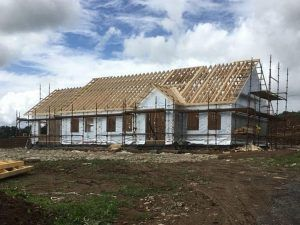 Timber Frame Ireland, Timber Frame house by QTF Services in Co. Mayo Ireland.